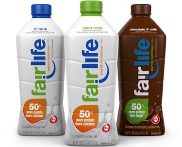 Γάλα από την Coca-Cola Fairlife